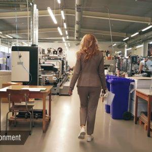 Заснемане и изработка на корпоративно видео за печатница Дъга 23