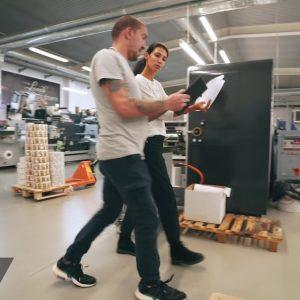 Заснемане и изработка на корпоративно видео за печатница Дъга 26