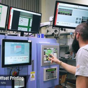 Заснемане и изработка на корпоративно видео за печатница Дъга 29