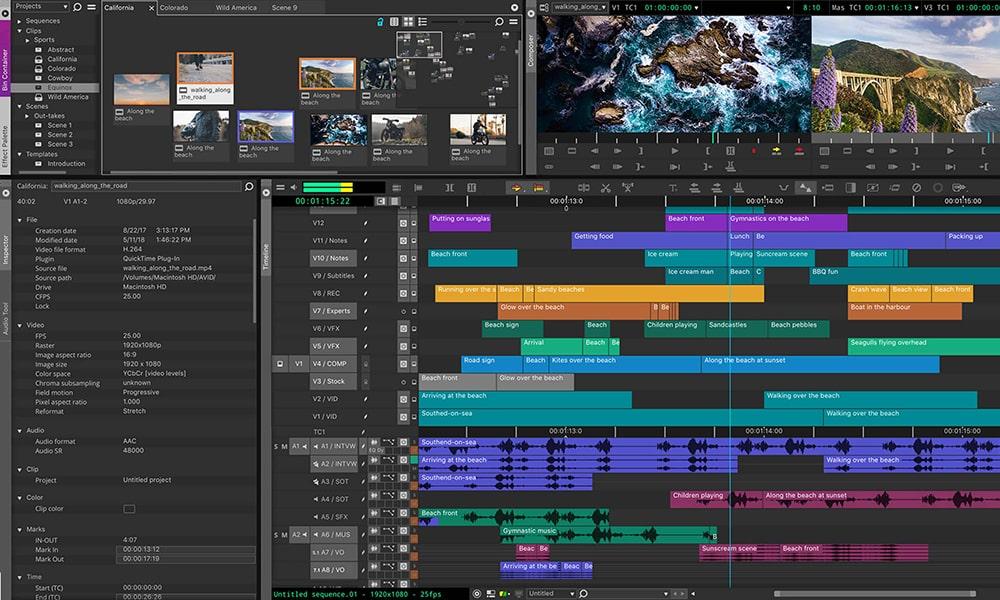 Avid Media Composer - софтуер за видео обработка