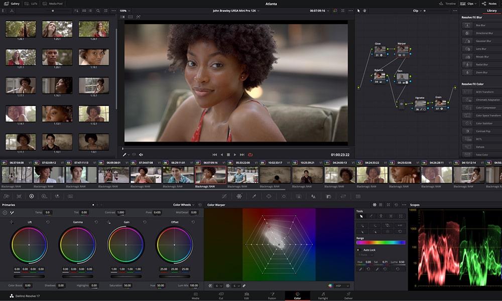 DaVinci Resolve Studio - видео монтаж програма
