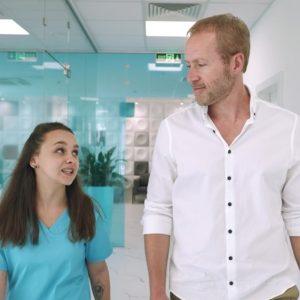Цялостна видео продукция на рекламен видеоклип за Sofia Implant Centre 16