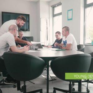 Заснемане и изработка на корпоративно видео за Volacom и ACOM 14